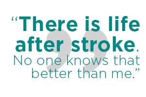 I'm a stroke survivor, what's your superpower